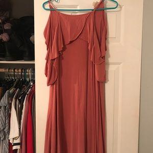 Pink Halter Top Dress